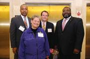 Sam Fuller, senior bank examiner,  D.C. government and member, Chase Brexton Health Care board of directors; Joanne F. Kraus, social worker,  Johns Hopkins Bayview Medical Center; Guy Van Tiggelan, director of compensation and benefits at LifeBridge Health, James Wynn, director of development at Volunteers of America, Chesapeake.