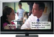 "Martin O'Malley for governor TV ad: Cost during ""The Biggest Loser"" Oct. 25: $3,000 Cost during ""Survivor"" Oct. 20: $4,320"