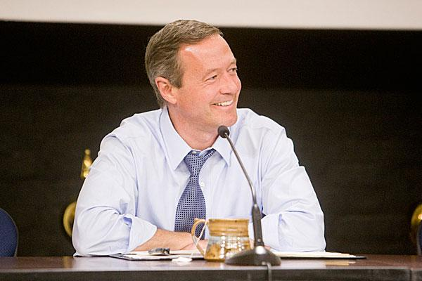 Gov. Martin O'Malley said the Department of Housing and Community Development's planned relocation to New Carrollton will help support economic development and smart growth initiatives.