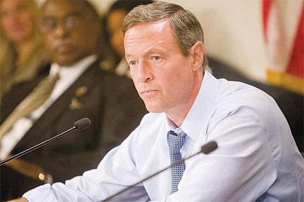 Gov. Martin O'Malley put a real estate tax into the 2012-2013 budget that is expected to bring in$36 million per year to the state.