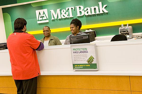 M&T Bank is the largest SBA lender in the Baltimore area. Above, a branch in downtown Baltimore.