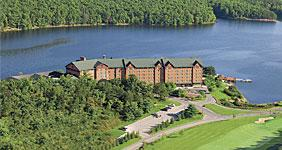 Lakes Entertainment Inc. is planning to build a new event center at Rocky Gap Lodge & Golf Resort.