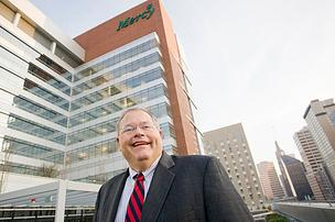 Tom Mullen's Mercy Medical Center will open its new hospital next month.