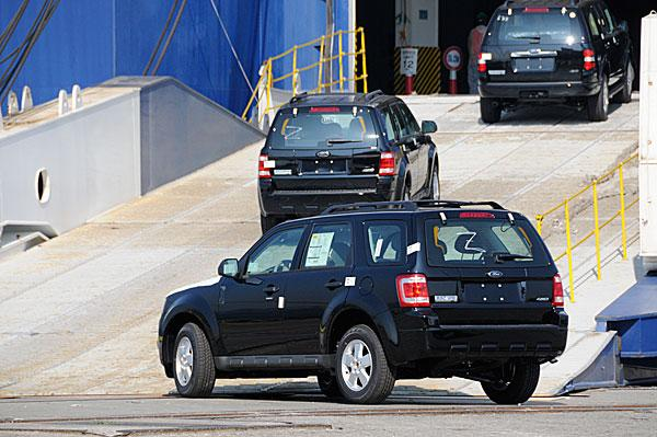 The Port of Baltimore handled more than 43,000 cars and trucks during October.