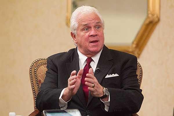 State Senate President Thomas V. Mike Miller.