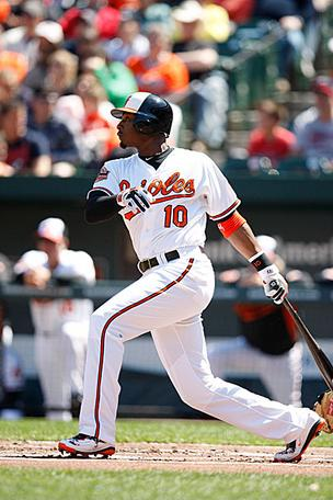 Adam Jones signed a contract through 2018.