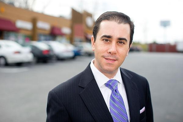 Adam Smallow, an attorney, branched into Edgewood to follow clients.