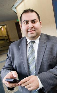 Billy Apostolou handles business development for Pessin Katz Law.