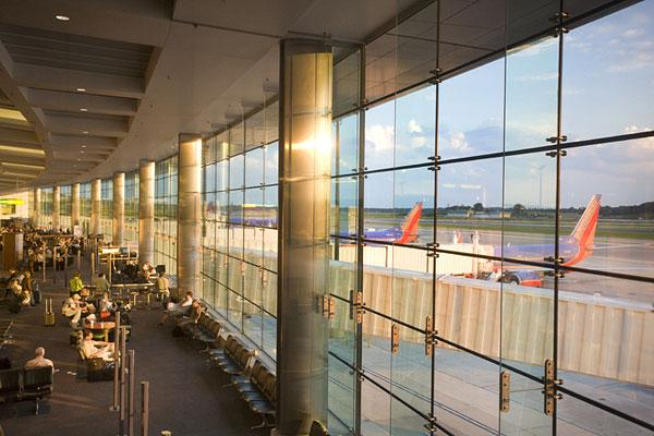 BWI saw more than 1.46 million passengers pass through its gates in February.