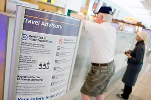 Sept. 11 brought on new security restrictions at airports nationwide.