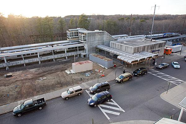 State transportation officials are weighing plans to build offices and shops at the BWI Marshall Rail Station.