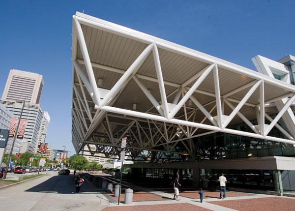 The Baltimore Convention Center will host a stretch of conventions over the next month.
