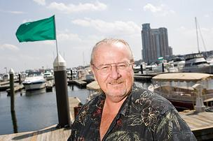 Bill Flohr says slips are in demand at the Inner Harbor East Marina.