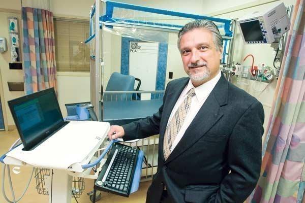Tim Brady's Mount Washington Pediatric Hospital is part of CRISP.