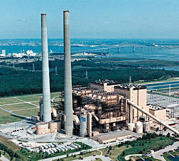 Wisconsin Power & Light Co. has awarded a $150 million contract to a subsidiary of The Babcock & Wilcox Co. to supply environmental systems for a coal-fired power plant in Wisconsin. (Picture shows the Brandon Shores coal-fired plant in Maryland.)