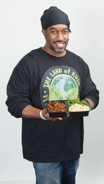 Gregory Brown started Land of Kush because he saw a demand for good vegetarian fare.