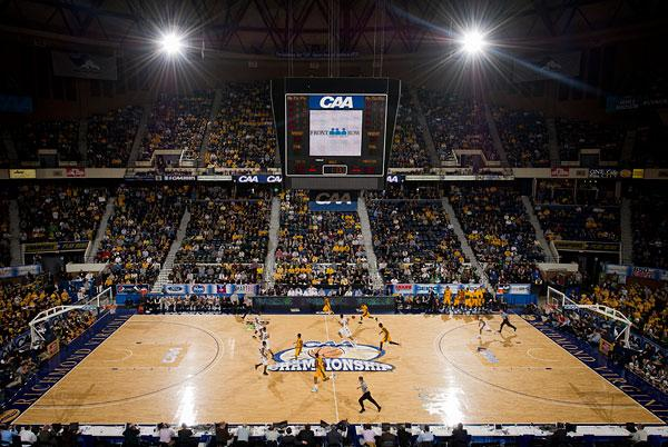 The CAA men's basketball tournament will move to the Baltimore Arena. Above, the 2011 tournament in Richmond, Va.