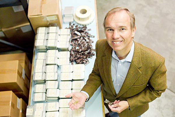 Chad Meyer wants to more than double TSP Spices' revenue by 2017.