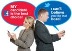 Twitter could pose workplace problems as election approaches