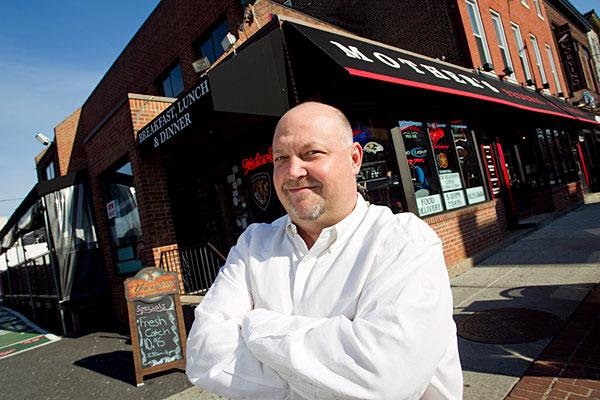 Dave Rather owns Mother's Federal Hill Grille.
