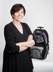 Brenda L. Desjardins, president of New Home Marketing Service, travels around 150 days per year for her job.