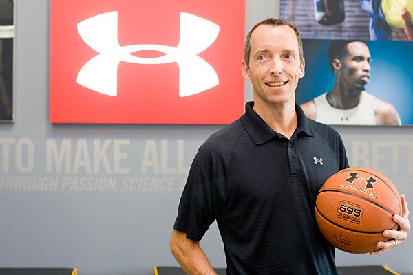 Under Armour's Edward Giard, vice president of licensing and accessories.