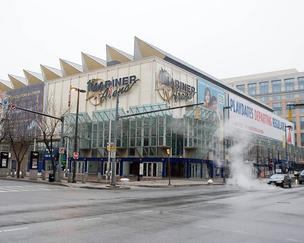 SMG Corp. manages downtown Baltimore's First Mariner Arena.