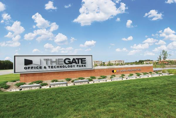 Contractors compete to set up offices literally inside the gate — or GATE — of Aberdeen Proving Ground.