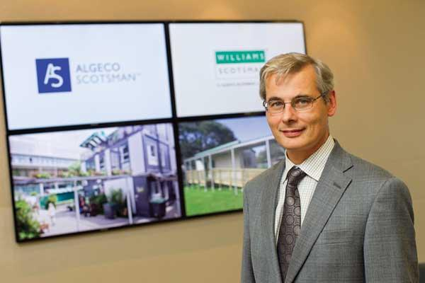 Jean-Marc Germain's Algeco Scotsman has increasingly built up its book of business with manufacturers.