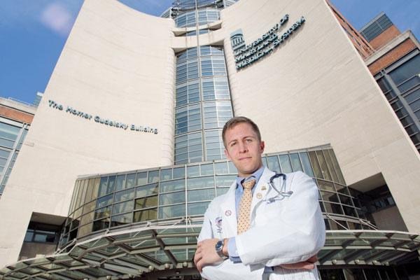 Paul Goleb always knew he wanted to be a doctor. What he didn't want were the traditionally crushing hours.