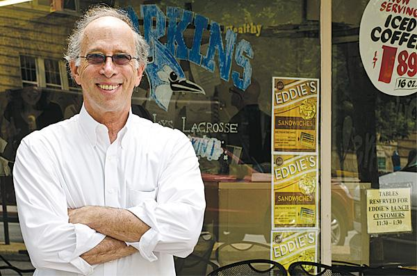 Jerry Gordon, owner of the Eddie's of Charles Village market, agrees with the theory of promoting from within — after he hires candidates he finds on Craigslist.