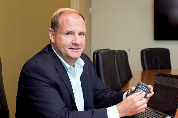 Gregg Smith said KoolSpan is set to take advantage of the growing number and capabilities of mobile devices.