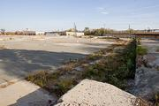 The site of a proposed Baltimore casino along Russell Street near M&T Bank Stadium.