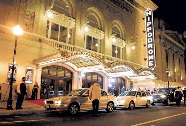 The Hippodrome Theatre on Eutaw Street.