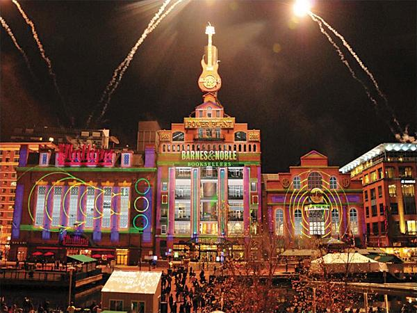 Last year's holiday light show drew an estimated 40,000 visitors.