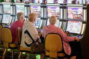 The legality of minority participation could derail Baltimore's slots parlor plan.