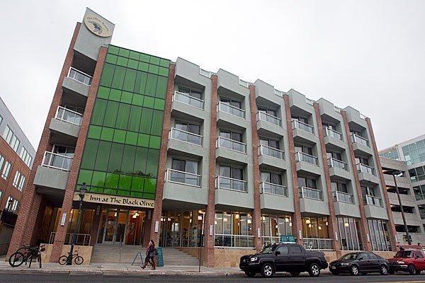 The 12-room Inn at Black Olive off Caroline Street in Fells Point.