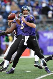 Baltimore Ravens quarterback: Joe FlaccoHe insisted last season he was one of the elite signal-callers in the NFL and joined that club with a great playoff run. Flacco's critics, however, say he's taken a step back this season.