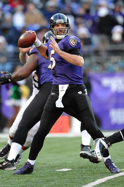 Ravens fanscan broadcast messages about players like Joe Flacco with a click of a button.