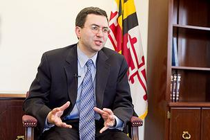 Maryland's top health official Dr. Joshua Sharfstein.
