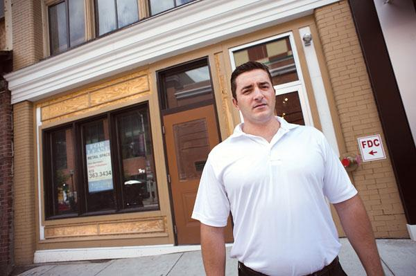 Drin Kaziaj said he got hooked on Pita Pit during his undergraduate years at Penn State University.