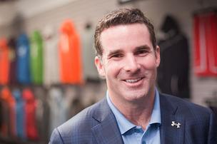 Under Armour CEO Kevin Plank says the company's goal is to hit $2 billion in sales by 2013.