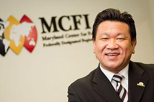 Lawrence Chang, of Maryland Center for Foreign Investment.