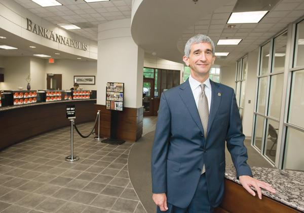 Richard Lerner is CEO of Annapolis Bancorp, which has agreed to be acquired for $51 million by F.N.B. Corp.