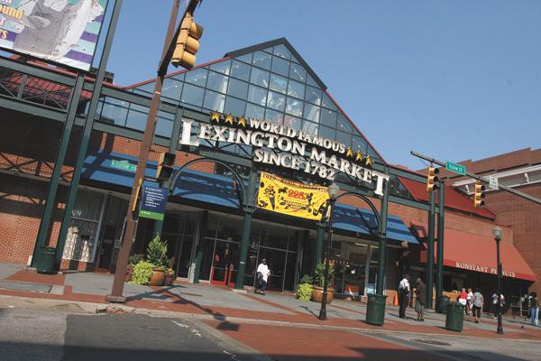 Lexington Market is being eyed for a makeover.