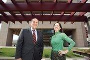 Robert A. Manekin of Manekin LLC and Elizabeth Cooper of Jones Lang LaSalle, helped broker Miles & Stockbridge's 120,000-square-foot lease at 100 Light St.