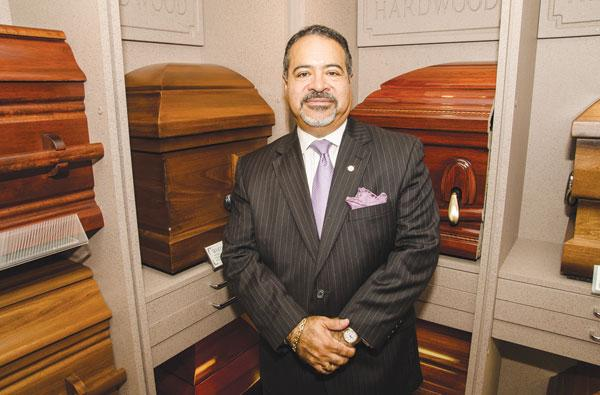 Victor March of March Funeral Homes says many family-owned funeral homes find it difficult to keep the business going because younger generations are choosing other careers.