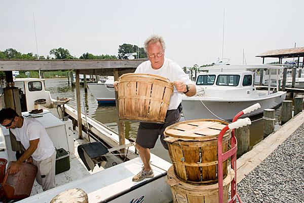 Mark Musterman, owner of Strongs Bay Seafood, says he didn't have enough holiday crabs.