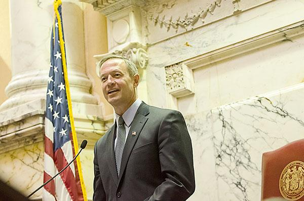 Gov. Martin O'Malley has proposed a transportation bill expected to raise $3.4 billion.