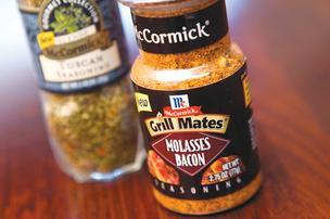 McCormick's new spices are going beyond cinnamon and nutmeg. How's molasses bacon for a change?